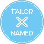 TailorNamed.com – Welcome Logo